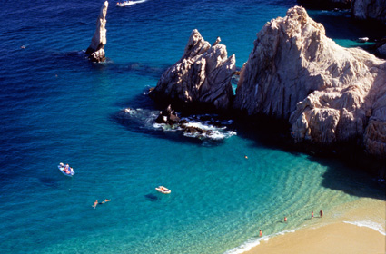 Playa del Amor, Cabo San Lucas, Baja California Sur, Mexico. Photo: Getty Images