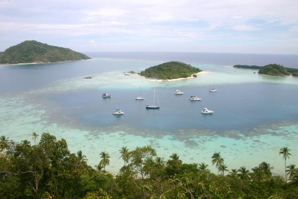 Bawah Islands within the Anambas Islands off Natuna Island in Riau Island Province, Indonesia. Photo: Andy Hoops