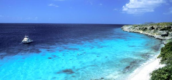 Bonaire, The Netherlands Antilles, a popular marine sports destination.  Photo: P&O Cruises