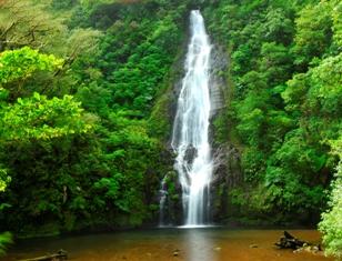 El Silencio-COSTA RICA-El Silencio waterfall