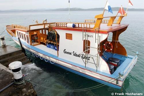 Gangga Island Resort accommodates PADI scuba divers from across the world. Photo: Frank Montanaro