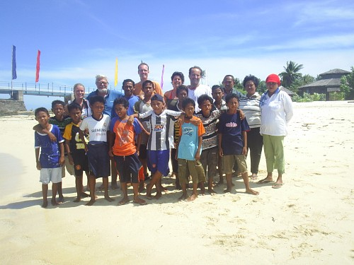 It takes a village. Marine turtle conservation efforts endorsed by Gangga Island Resort