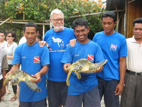 Gangga Island Resort-MANADO-INS-turtles03