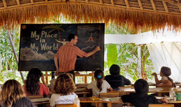 Green School-BALI-place