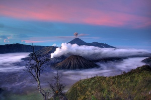 Mt. Bromo. Photo: flickr member isa_adsr