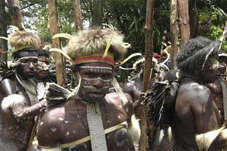 The Asmat tribe of West Papua, East Indonesia
