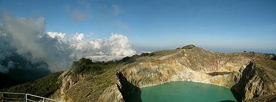 Volcano Lake on Sumbawa Island. Photo: flickr member ameland 1732