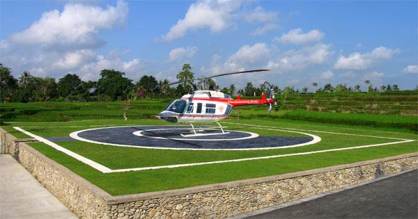 Viceroy Resort_ Ubud_BALI_helicopterpad