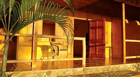 Balamku Inn on the Beach, Mahahual, Mexico.