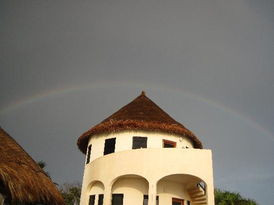 Balamku Inn on the Beach, Mahahual, Mexico.  Photo: tripadvisor member Roxyshouse
