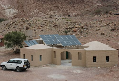 Feynan Eco Lodge utilizes solar power for its electricity needs.