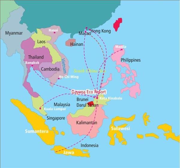 Gayana Eco Resort-Sabah-MAL-MAP
