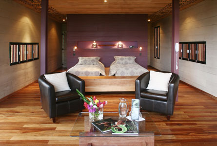 Hamadryade Eco Lodge-ECUADOR-Double-bed-room