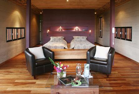 Hamadryade Eco Lodge-ECUADOR-Double-bed-room