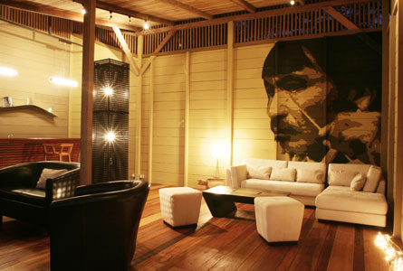 Hamadryade Eco Lodge-ECUADOR-Living-Room
