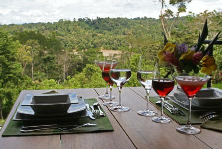 Hamadryade Eco Lodge-ECUADOR-Restaurant