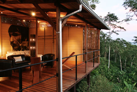 Hamadryade Eco Lodge-ECUADOR-Terrace-View