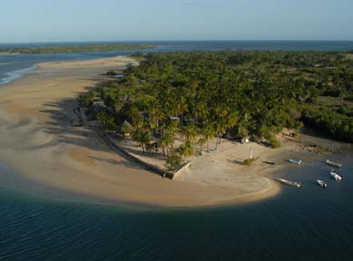 manda bay on manda island