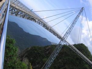 Langkawi Cable Car-MAL-suspension-bridge-02