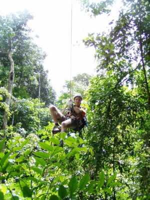 Canopy Adventure in Langkawi, Malaysia. Photo: Langkawi Canopy Adventure