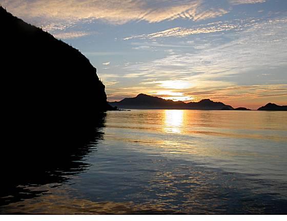 Loreto sunrise on the Sea of Cortes. Photo: www.sfgate.com