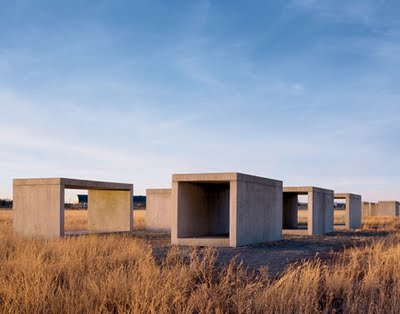 Marfa Texas-Donald Judd_15 Untitled Works in Concrete 1980-1984