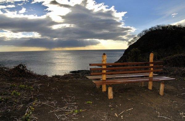 Morgan's Rock-NICARAGUA-San Juan Beach at Sunset