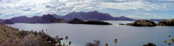 Panorama view, Pagang Island, West Sumatra. Photo: D Nukman