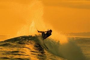 Taj surfing the Mentawai Islands. Photo: photobucket member psychotrini