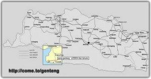 Ujung Genteng-Map