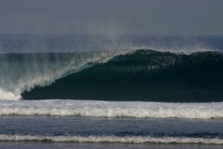 Great swells await! Ujung Genteng, West Java