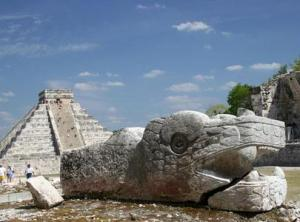 When you visit the Mayan ruins in and around Merida, you may wonder why anyone would think the world will come to an end, when the ancient race's calendar runds out on Dec 1, 2012. Photo: Allan Ryan