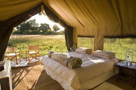 Xaranna Luxury Tent Camp, Okavango Delta, Botswana