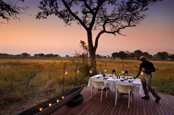 Xudum Luxury Lodge, Okavango Delta, Botswana