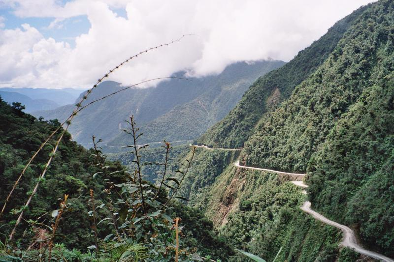 the death road, most dangerous road in the world, yungas road, death road bolivia