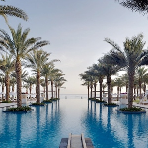 Al Bustan Palace Intercontinental-Muscat-OMAN Pool 1