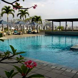 Alila Jakarta-Rooftop Pool 1