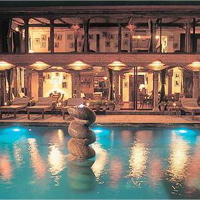 Dwarika Hotel-NEPAL Pool 1