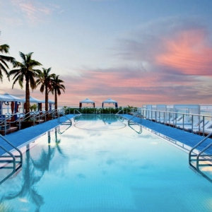 Gansevoort South-Miami-FL Rooftop Pool 2