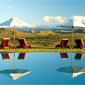 Gocheganas Nature Reserve & Wellness Village-NAMIBIA Pool 1
