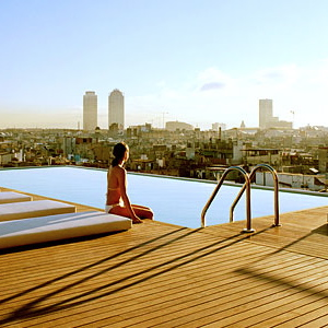 Grand Hotel Barcelona-Rooftop Pool