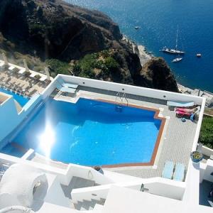 Hotel Loukas-GREECE Pool 1