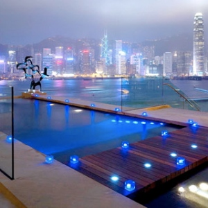 Intercontinental Hong Kong-Rooftop Pool A