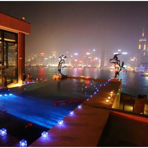 Intercontinental Hong Kong-Rooftop Pool B