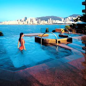 Intercontinental Hong Kong-Rooftop Pool C