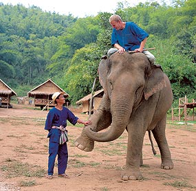Mahout Training for tourists-photo Anantara Golden Triangle
