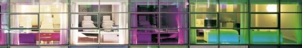 Radisson SAS-Rome-ITALY Neon Bright Exterior 1