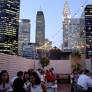 Rooftop Bar At Murray Hill Hotel NYC