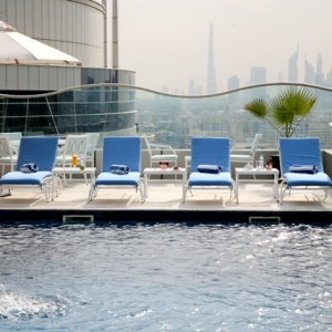 Samaya Hotel-Dubai-UAE Rooftop Pool 1