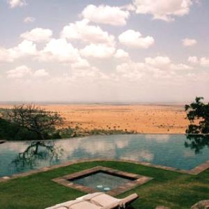 Singita Grumeti Reserves Sasakwa Hill Lodge-TANZANIA Pool 1